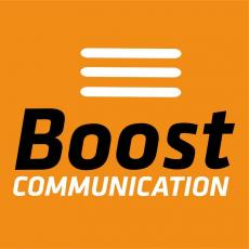 logo boost communication